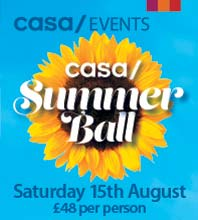 CASA - A taste of Spain. Call 01246 245999 or click for website