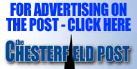 Amazing rates available for advertising on the Chesterfield Post. Click here for basic details or to download the full media pack.