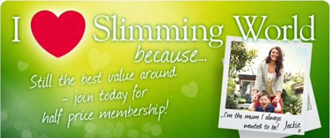 Slimming world in chesterfield clubs news contacts special offers all on one page I love slimming world