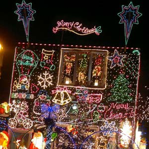 north view christmas display is a musical computer controlled christmas light display on a