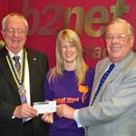 Bluebell Wood Children's Hospice benefits from bucket collections at the B2Net