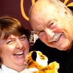 "Jimmy Greaves launches ""Tiger J's"" chcocolate for the Born Free foundation"