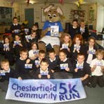 Brockwell School Prepares For Fun Run