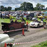 Record Crowds For Ashovers Classic Car And Bike Show