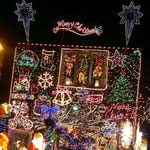Bolsover Christmas Light Display For Kids 'n' Cancer Charity