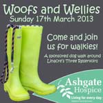 Woofs And Wellies Dog Walk For Ashgate Hospice