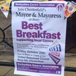 Mayoral Best Breakfast For Derbyshire Carers Association