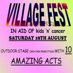 Clowne 'Village Fest' In Aid Of Kids'n'Cancer