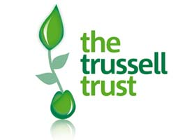 According to figures released by the UK's biggest food bank network, The Trussell Trust, the number of people relying on food banks to survive has tripled over the last year