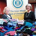 Chesterfield's Inner Wheel Get Knitting For Africa's 'Fish & Chip' Babies