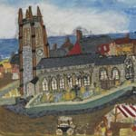 Paintings By Local Artists from the 1950s by Stanley Dyson