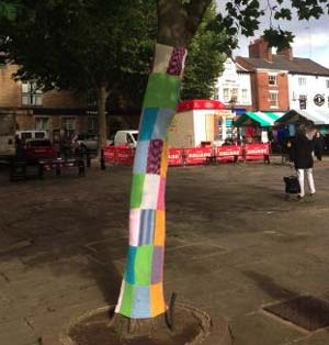 Chesterfield residents are disappointed after their handiwork for the Chesterfield Market Festival was stolen by thieves.