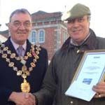 W Ayres is Winner Of Chesterfield Market Favourite Trader Competition