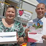 Lucky Linda Bags A Mini iPad in Council's Market Competition