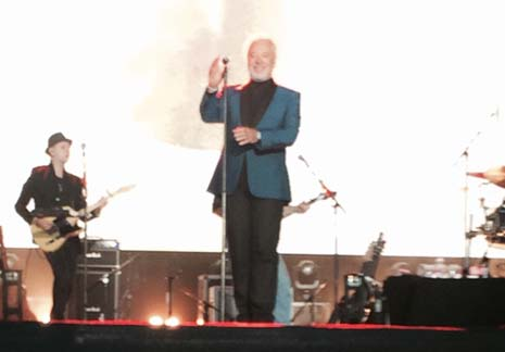 Thanks to you, I've had one of my best birthday's ever! - That was Sir Tom Jones paying homage to the thousands of people who packed the PROACT last night to hear him in concert.