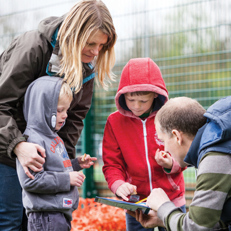 Families are being encouraged to explore their local park as part of a new series of Xplorer events to be held at Hornscroft Park in Bolsover.