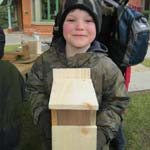 Chesterfield's Queen's Park Says 'Feed The Birds' for National Nest Box Week