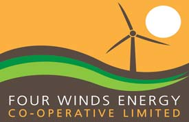 The Four Winds Energy Co-Op in Derbyshire and Yorkshire officially opened its share offer yesterday, Monday June 9th 2014.