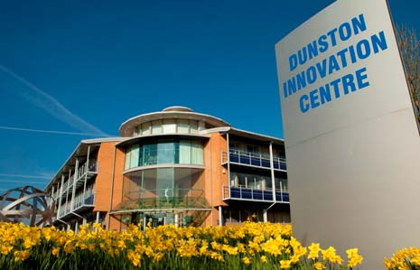 the flagship business centre - Dunston Innovations Centre celebrates its 10 year anniversary