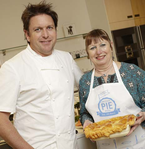 Veronica Prunty from Chesterfield spent the day with celebrity chef James Martin on Friday, March 21st, at an exclusive cooking master class, after winning a competition ran by Vintage Inns during British Pie Week.