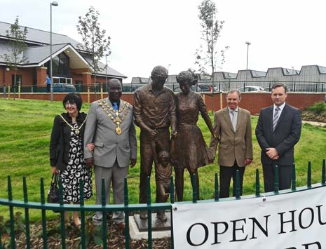 The Mayor and Mayoress of Chesterfield, and several councillors from the planning committee, were guests of honour as Chesterfield's newest church was officially opened on Saturday.