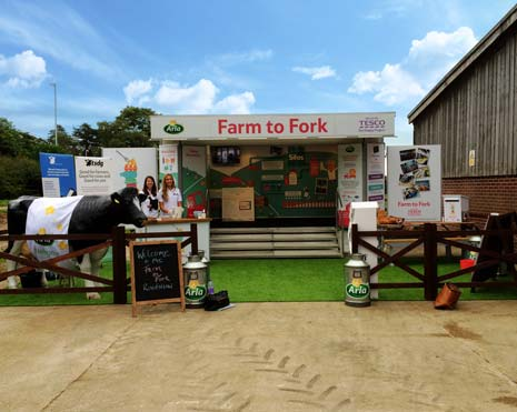 Tesco customers are being invited TODAY (Friday, 125th August) to the Chesterfield Tesco Extra store at Lockoford Lane, for a 'Farm to Fork' roadshow.