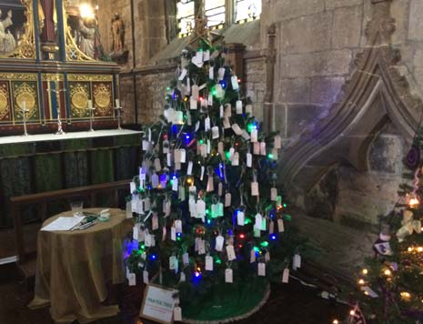 It's interactive too, with both a 'prayer tree' and a 'poetry tree' which visitors can make their contributions to as they walk around.