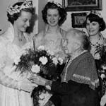 Royal Return For Coronation Queen Edna Halksworth
