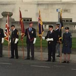 Armistice Day Honoured In Chesterfield