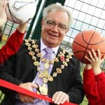 The Mayor Opens new games area in Highfield Park, Newbold