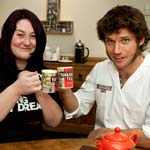 Tea for two... with Rachel Heath, lucky winner of the Bennets Biker Dream Scheme