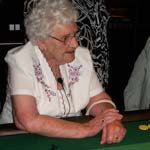 Local Lady Gambles On A Great 98th!