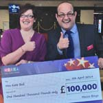 Chesterfield Lady Has 100,000 Reasons To Celebrate...