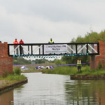 New Footbridge Opened At Chesterfield Canal Festival