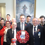 The Jesus Christ Of Latter Day Saints Church And Rotary Club Join Forces To Sell Poppies
