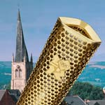 Olympic Torch Proves A Traffic Stopper With Bus Disruptions