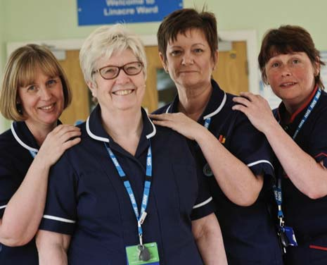 Fifty-two years after taking up nursing, Kath Cowan, Ward Manager at Linacre Ward, Walton Hospital, is retiring from the career she loves.