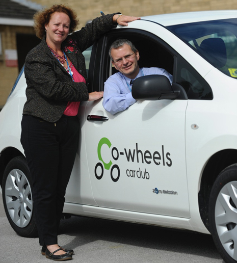 A new Nissan Leaf electric car - the first of its kind delivered this week to Derbyshire Community Health Services NHS Trust - is reducing the environmental impact of NHS workers travelling across the county.