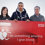 Local Donor wins VIP guest day at B2NET after donating blood