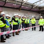 Chesterfield Royal Hospital Welcomes In The Next Generation Of Builders