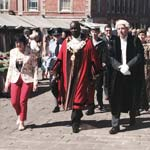 Chesterfield's New Mayor Parades Through The Town