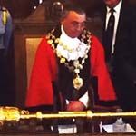 Thank You For Making Me Mayor! - Cllr Bingham Takes Office