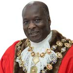 Chesterfield's New Mayor, Cllr Alexis Diouf - I Will Do My Best To Make Chesterfield Proud Of Me!