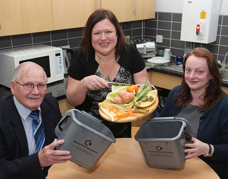 An environmentally friendly way to dispose of food waste is being introduced for residents in the Bolsover District, Chesterfield Borough and North East Derbyshire District Council areas.