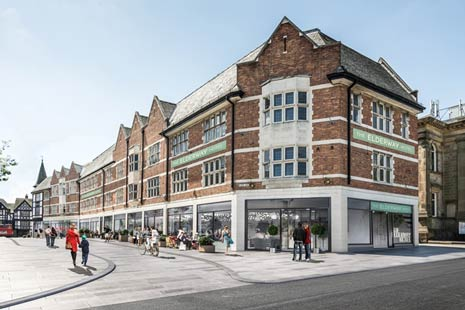 A planning application is to be submitted to Chesterfield Borough Council seeking permission to convert the town's landmark former Co-op store for a mixed leisure and restaurant use.