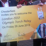 Chesterfield confirmed as part of Olympic Torch route