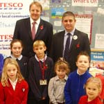 Pupils Are Well Equipped For School As MP Presents Supermarket Goodies