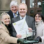 County Council Recognised For Work With Young People