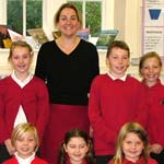 MP Visits One Of Constituency's Smallest Schools