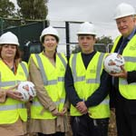 Work Begins On New Eastwood Park Pavilion